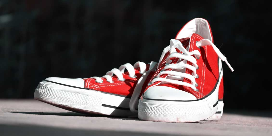 Legendary Red Canvas Shoes Come Back Again